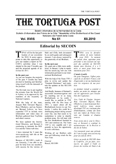 <font size=3><center><b>The Tortuga Post<b><center></font>